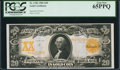 Large Size:Gold Certificates, Fr. 1186 $20 1906 Gold Certificate PCGS Gem New 65PPQ. . ...