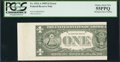 Error Notes:Skewed Reverse Printing, Fr. 1921-A $1 1995 Federal Reserve Note. PCGS Choice About New 55PPQ.. ...