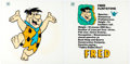 Animation Art:Poster, Hanna-Barbera Store - Fred Flintstone and Friends Silk ScreenedPrints Group of 8 (Hanna-Barbera, 1990).... (Total: 8 Items)