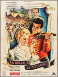 """Movie Posters:Foreign, The Beauty and the Gypsy (Cocinor, 1958). French Grande (47"""" X 63""""). Foreign.. ..."""
