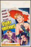 """Movie Posters:Foreign, Jenny Lamour (Coronis, 1947). Belgian (14.25"""" X 21.25""""). Foreign.. ..."""
