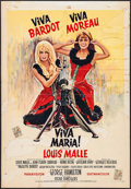 "Movie Posters:Adventure, Viva Maria! & Other Lot (United Artists, 1967). Belgians (2)(17"" X 24.75"", 14.25"" X 21.5""). Adventure.. ... (Total: 2 Items)"