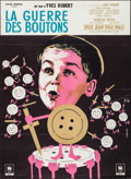 "Movie Posters:Foreign, War of the Buttons (Eclair Journal, R-1960s). French Grande (46"" X 63""). Foreign.. ..."