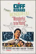 "Movie Posters:Rock and Roll, Wonderful To Be Young & Other Lot (Paramount, 1961). One Sheet(27"" X 41"") & Three Sheet (41"" X 79). Rock and Roll.. ...(Total: 2 Items)"