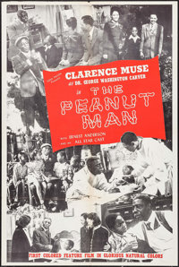 "The Peanut Man (Consolidated, 1947). One Sheet (28"" X 42""). Black Films"