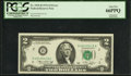 Error Notes:Mismatched Prefix Letters, Fr. 1935-B $2 1976 Federal Reserve Note. PCGS Gem New 66PPQ.. ...