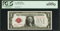 Small Size:Legal Tender Notes, Fr. 1500 $1 1928 Legal Tender Note. PCGS Gem New 65PPQ.. ...