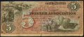 Obsoletes By State:Indiana, Lafayette, IN- Pioneer Association $5 Advertising Note. ...