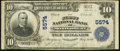 National Bank Notes:Pennsylvania, Montgomery, PA - $10 1902 Plain Back Fr. 633 The First NB Ch. # 5574. ...