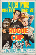 "Movie Posters:Crime, Rogue Cop (MGM, 1954). One Sheet (27"" X 41"") & Lobby Card Set of 8 (11"" X 14""). Crime.. ... (Total: 9 Items)"