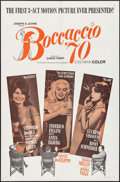 "Movie Posters:Foreign, Boccaccio '70 (Embassy, 1962). One Sheet (27"" X 41"") & Lobby Card Set of 4 (11"" X 14""). Foreign.. ... (Total: 5 Items)"