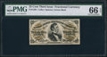 Fractional Currency:Third Issue, Fr. 1294 25¢ Third Issue PMG Gem Uncirculated 66 EPQ.. ...