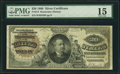 Large Size:Silver Certificates, Fr. 314 $20 1886 Silver Certificate PMG Choice Fine 15.. ...