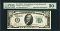 Error Notes:Double Denominations, Fr. 2001-E $10/5 1928A Double Denomination Federal Reserve Note. PMG About Uncirculated 50 Net.. ...