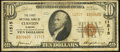 National Bank Notes:Alabama, Clanton, AL - $10 1929 Ty. 2 The First NB Ch. # 11515. ...