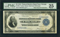 Error Notes:Double Denominations, Fr. 765 $2/$1 1918 Federal Reserve Bank Note PMG Very Fine 25.. ...