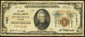 National Bank Notes:Alabama, Sylacauga, AL - $20 1929 Ty. 1 The First NB Ch. # 7451. ...