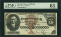 Large Size:Silver Certificates, Fr. 288 $10 1880 Silver Certificate PMG Choice Uncirculated 63.....