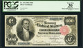 Large Size:Silver Certificates, Fr. 344 $100 1891 Silver Certificate PCGS Apparent Very Fine 30.. ...