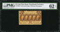 Fractional Currency:First Issue, Fr. 1280 25¢ First Issue PMG Uncirculated 62 EPQ.. ...