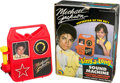 Music Memorabilia:Autographs and Signed Items, Michael Jackson Signed Sing-a-Long Sound Machine (LJN, 1984)....