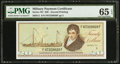 Military Payment Certificates:Series 701, Series 701 $20 PMG Gem Uncirculated 65 EPQ.. ...