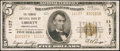 National Bank Notes:Pennsylvania, Liberty, PA - $5 1929 Ty. 2 The Farmers NB Ch. # 11127. ...