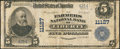 National Bank Notes:Pennsylvania, Liberty, PA - $5 1902 Plain Back Fr. 606 The Farmers NB Ch. #11127. ...