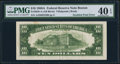 Error Notes:Major Errors, Fr. 2028-A $10 1988A Federal Reserve Note. PMG Extremely Fine 40EPQ.. ...