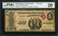 National Bank Notes:Pennsylvania, Philadelphia, PA - $1 Original Fr. 380a The NB of the Republic Ch.# 1647. ...