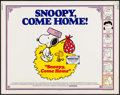 "Movie Posters:Animation, Snoopy, Come Home! (National General, 1972). Half Sheet (22"" X 28""). Animation.. ..."