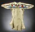 American Indian Art:Beadwork and Quillwork, A Plateau Beaded Hide Dress. c. 1930...