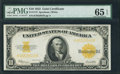 Large Size:Gold Certificates, Fr. 1173 $10 1922 Gold Certificate PMG Gem Uncirculated 65 EPQ.....