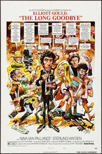 """The Long Goodbye (United Artists, 1973). One Sheet (27"""" X 41"""") Style C & Lobby Card Set of 8 (11"""" x 1..."""