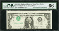 Error Notes:Inverted Third Printings, Fr. 1913-B $1 1985 Federal Reserve Note. PMG Gem Uncirculated 66EPQ.. ...