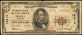 National Bank Notes:Alabama, Mobile, AL - $5 1929 Ty. 2 The American NB & TC Ch. # 13414. ...