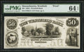 Obsoletes By State:Massachusetts, Westfield, MA- Westfield Bank $50 G14 Proof. ...