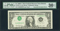 Error Notes:Inverted Third Printings, Fr. 1917-A $1 1988A Federal Reserve Note. PMG Very Fine 30 EPQ.....