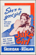 "Movie Posters:Bad Girl, Juke Girl (Warner Brothers, R-1950s). One Sheet (27"" X 41"") &Lobby Cards (7) (11"" X 14""). Bad Girl.. ... (Total: 8 Items)"