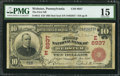 National Bank Notes:Pennsylvania, Webster, PA - $10 1902 Red Seal Fr. 613 The First NB Ch. # (E)6937....