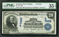National Bank Notes:West Virginia, Newburg, WV - $20 1902 Date Back Fr. 642 The First NB Ch. #(S)7626. ...