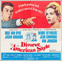 "Divorce American Style (Columbia, 1967). Six Sheet (78.5"" X 79.5""). Comedy"