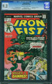 Iron Fist #2 (Marvel, 1975) CGC NM- 9.2 Off-white to white pages