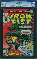 Bronze Age (1970-1979):Superhero, Iron Fist #2 (Marvel, 1975) CGC NM 9.4 White pages.