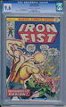 Iron Fist #4 (Marvel, 1976) CGC NM+ 9.6 Off-white to white pages