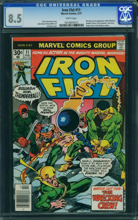 Iron Fist #11 (Marvel, 1977) CGC VF+ 8.5 White pages