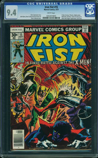 Iron Fist #15 (Marvel, 1977) CGC NM 9.4 White pages