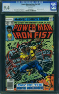 Bronze Age (1970-1979):Superhero, Power Man and Iron Fist #52 (Marvel, 1978) CGC NM 9.4 White pages.