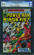 Bronze Age (1970-1979):Superhero, Power Man and Iron Fist #55 (Marvel, 1979) CGC NM+ 9.6 White pages.