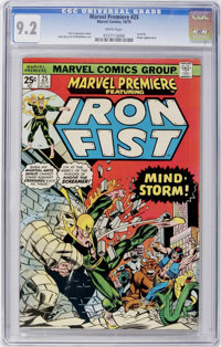 Marvel Premiere #25 (Marvel, 1975) CGC NM- 9.2 White pages